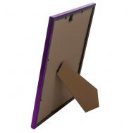 Пластиковая фоторамка фиолетовый металлик 21x30