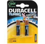Батарея  DURACELL TURBO LR03 2BL /20/60