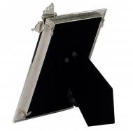 Фоторамка Platinum PF10671 10x15 c бабочкой, металлическая со стразами