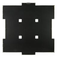 BIN-112184 Чёрный с золотом (Black with gold), 9 фоторамок /6
