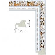 Фоторамка из пластика со стеклом Садко белый 40x60