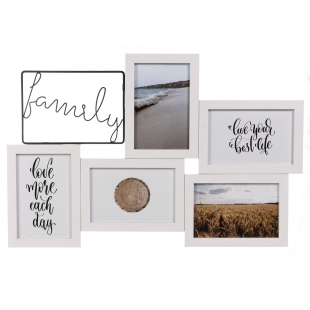 Мультирамка Family пять фото 10х15, Platinum BB-7031