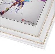 Пластиковая фоторамка PLATINUM 8131 ВЕРЧЕЛЛИ цвет БЕЛЫЙ 21x30