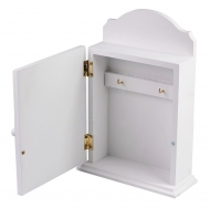 ML-4722 Ключница белая с дверцей