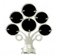 6 круглых фоторамок на семейном древе PF10173B