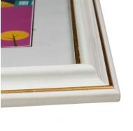 Фоторамка из пластика со стеклом Офис (281) белый 15x21