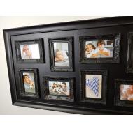 Винтажный коллаж мультирамка на восемь снимков Антик коричневый (Antique brown), 8 фоторамок /6