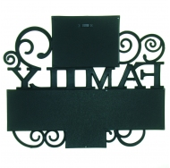"BH-1314-Black-Чёрный, 4 фоторамки ""Family"" /12"