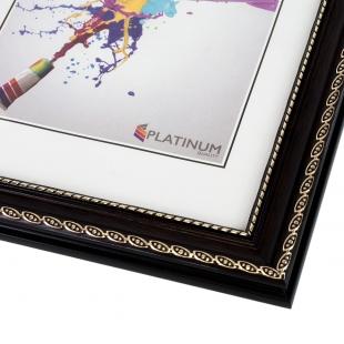 Пластиковая фоторамка PLATINUM 8131 ВЕРЧЕЛЛИ цвет ВЕНГЕ 10x15