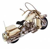 1510A-7832 Модель Ретро Мотоцикл белый