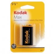 БатареяKodak MAX 6LR61 (крона) 1BL /10/200