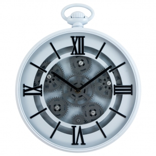 MC-254 Часы настенные с шестеренками (30x30 см.)