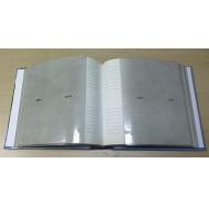 Фотоальбом на 200 фото С-46200L с рамкой (бумажные стр. с МЕМО) Детский альбом-4
