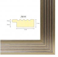 Фоторамка platinum jw95-1 парма-белое золото 15x21
