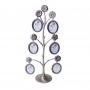 6 фоторамок на дереве PF9929 (H 40.3см.) /12