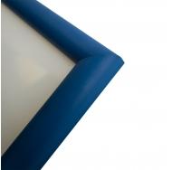 Пластиковая фоторамка синий 21x30