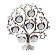 7 фоторамок на дереве, семейное древо