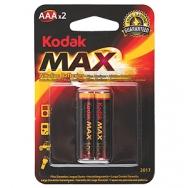 БатареяKodak MAX LR03 2BL /20/100