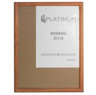 Фоторамка Platinum, 30х40 см, сосна, цвет коричневый