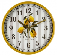 MC-4146 Часы настенные LEMONS (23x23 см.)