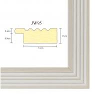 Фоторамка platinum jw95-4 парма-белый 15x21