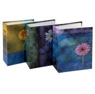 Фотоальбом Цветочная коллекция-9 на 100 фотографий с пластиковыми листами 10x15