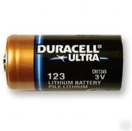 Батарея  DURACELL ULTRA CR-123A /10/50