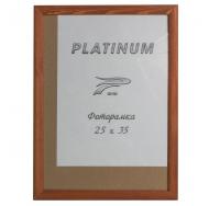 Фоторамка со стеклом Platinum, 25х35 см, сосна, цвет коричневый