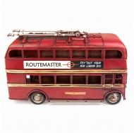 1410E-4481 Модель Ретро Лондонский троллейбус красный