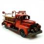 1504E-5116 Модель Ретро Пожарная машина красная, с фоторамкой и копилкой