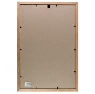 Фоторамка со стеклом Platinum, 30х45 см, сосна, цвет коричневый