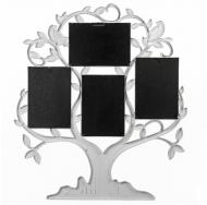 Мультирамка BIN-1124348-White-Белый, 4 фоторамки, Родословное дерево, Family