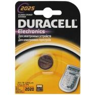 Батарея  DURACELL CR2025 1BL /10/100