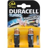 Батарея  DURACELL TURBO LR 6 2BL /40/120
