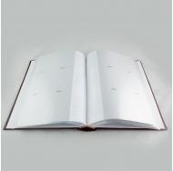 Фотоальбом на 300 фото С-46300RCLV книжный переплёт Однотонные