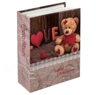 Фотоальбом Любовь-2 на 100 фотографий с пластиковыми листами 10x15