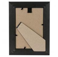 Фоторамка из пластика Садко золото с черным 10x15