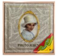 Фотоальбом с магнитными листами большого формата 31х32 см, белый