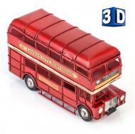 Винтажная модель знаменитого лондонского  двухэтажного автобуса Рутмастер