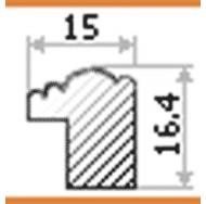 Фоторамка platinum 8020-2 арона-коричневый 30x45