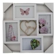 Мультирамка Love четыре фото 10х15, Platinum BB-7043