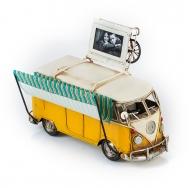Винтажная модель Volkswagen Transporter T2 Ретро Автобус с фоторамкой
