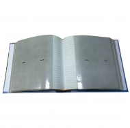 Фотоальбом на 200 фото С-46200L (бумажные стр. с МЕМО) Детский альбом-6 (22512)
