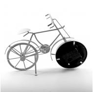 ML-5388 White Часы настольные Велосипед белый