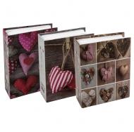 Фотоальбом Любовь на 100 фотографий с пластиковыми листами 10x15