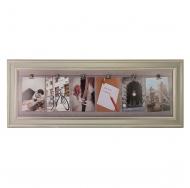 Фотоколлаж с прищепками для 6 фотографий