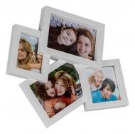 Фотоколлаж мультирамка  BIN-1122954 Белый (White), 4 фоторамки