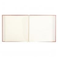Фотоальбом с магнитными листами большого формата 31х32 см, красный