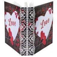 Фотоальбом Любовь-2 на 200 фотографий с пластиковыми листами 10x15