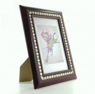 Фоторамка platinum jw97-2 пинето, цвет бордовый, формат фото 10x15